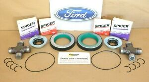Ford F250 F350 Superduty 2005 2014 Front Axle Seal And Greaseable U Joint Kit