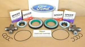 Ford F250 F350 Superduty 2005 2014 Front Axle Seal And Greaseable U Joint Kit Fits 2009 Ford
