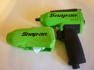 New Snap On Green 3 8 Drive Impact Wrench Gun Air Powered New In The Box