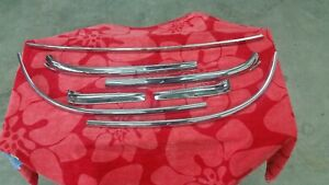 1954 56 Oldsmobile And Buick Convertible Windshield Mouldings