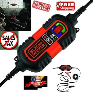 12v 6v Battery Charger Automatic Maintainer Motorcycle Car Float Trickle Tender