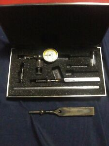 Nice Usa Made Starrett No 711 Last Word Dial Indicator Attachments