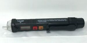 Tacklife Vt02 Non contact Ac Voltage Tester Detector Black