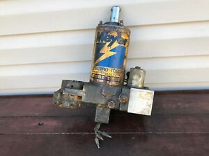 Meyer E 47 Power Angle Snow Plow Pump For Parts Or Repair