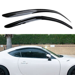 Rain Gaurd Window Visor For Subaru Brz Toyota 86 2012 2018 Scion Fr S 2012 2016