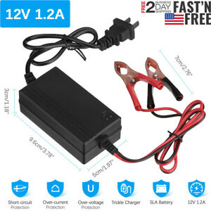 Car Battery Charger 12v Portable Auto For Trickle Maintainer Boat Motorcycle Atv
