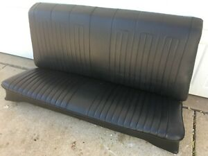 Original Black 1968 Gto Lemans Rear Back Seat Coupe Hard Top 1969 442 Chevelle