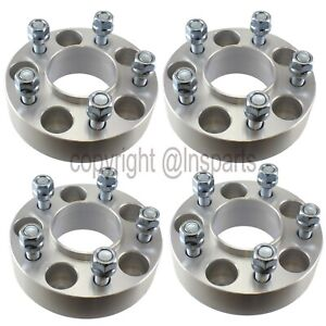 4 1 50 Wheel Spacers Adapters Hubcentric For Jeep Wrangler Tj Yj Cherokee