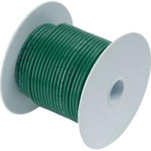 10 Awg Gauge Marine Wire Tinned Copper Green 100 Ancor