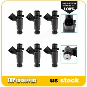 6 Fuel Injectors For 2004 2006 Cadillac Cts Buick Rendezvous 3 6l 217 1552