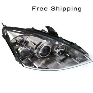 Hid Head Lamp Lens And Housing Passenger Side Fits Ford Focus 2002 05 Fo2503202