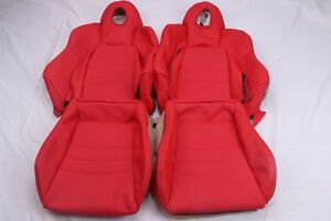 Custom Made Honda S2000 Ap1 Real Leather Seat Covers Red Or Other Color