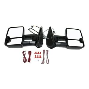 25838267 pfm Mirrors Set Of 2 Left and right Heated For Chevy Lh