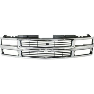 Grille For Chevy Suburban Gm1200238 15981106 Chevrolet Tahoe C1500 Truck K1500
