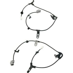 Abs Cable Harnesses Set Of 2 Rear Left and right Lh Rh For Toyota Corolla Pair