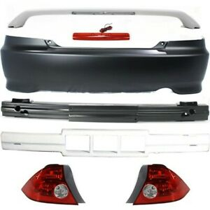 Kit Auto Body Repair Rear Coupe For Honda Civic 2004 2005