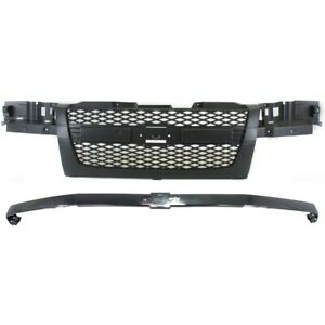 Grille Kit For Chevy 12335794 12335792 Chevrolet Colorado 2004 2012