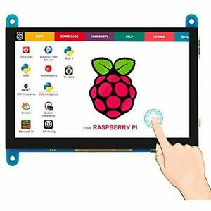 7 Inch Capacitive Touch Screen Tft Lcd Display Hdmi Module 800x480 Raspberry Pi