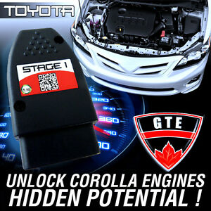 Stage 1 Performance Chip Module Obd2 Tune For Toyota Corolla 2013 To 2019