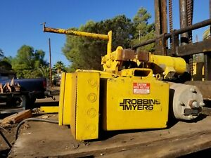 Robbins Myers S2 3 19m14t Under Slung Electric Cable Hoist trolley 3 Ton
