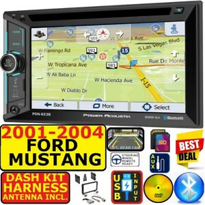 01 04 Ford Mustang Navigation Bluetooth Usb Aux Sd Cd Dvd Car Radio Stereo Pkg