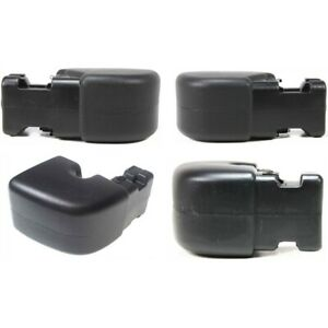 Bumper Face Bar Ends Set Of 4 Front Rear Left And Right Lh Rh For Wrangler