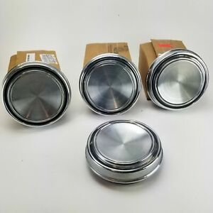 1967 Vintage Ford Mustang Gt 6 1 2 Hubcaps Plain Wheel Covers Center Caps