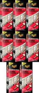 Meguiars G2960 Headlight Restoration Kit Basic 8 Pack