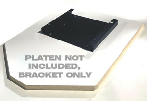 Used Fits Vastex Platen Platen Pallet Bracket Holder Clamp Screen Printing