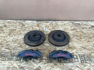 Ford Mustang Gt 2015 2019 Oem Front Brembo Brake Calipers With Rotors set 53k
