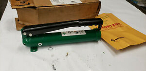 Greenlee 51132840 767 Hydraulic Hand Pump For Knockout Punch Tools Nib Lot 2