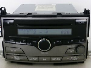 Oem Toyota Venza Rds Radio 6 Cd Disc Changer Mp3 Player Stereo Receiver Unit