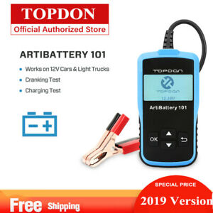 12v Car Battery Analyzer Load Tester 100 2000 Cca Automotive Bad Cell Test Tool
