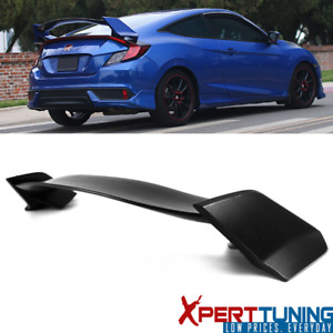 Fits 16 20 Honda Civic 10th Gen X Coupe 2 Door Type R Abs Trunk Spoiler Wing