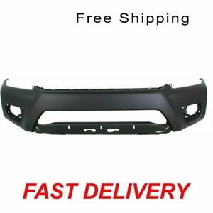 Front Bumper Cover Primed Fits 2012 2013 Toyota Tacoma X runner Model To1000386
