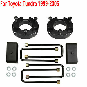 For 1999 2006 Toyota Tundra 3 Front And 2 Rear Leveling Lift Kit Brand New Hx