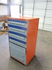 Stanley Vidmar 7 Drawer Cabinet With Ge Heater Parts 1111029jw Used