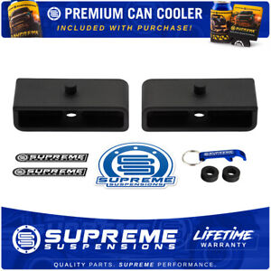 Rear Leveling Lift Blocks For Vehicles With 9 16 Axle Pin Holes 1 5 Lift Kit