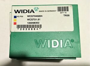 Widia Wcgt 040204 21 51 Carbide Inserts Tn35 Qty 10 In A Package