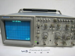 Tektronix 2230 100mhz Two Channel Analog digital Storage Oscilloscope