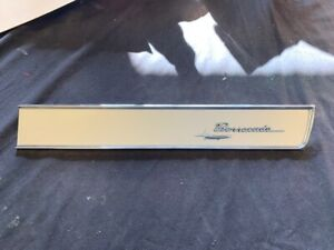 1967 68 69 Plymouth Barracuda Glove Box Trim Panel With Fish Emblem New 316 69t
