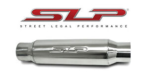 Slp Loud Mouth Ii Bullet Type Muffler 3 Inlet And 3 Outlet Slp 31067
