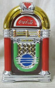 Coca-Cola Cookie Jar - Jukebox - Rock'n Roll - Gibson - 2002