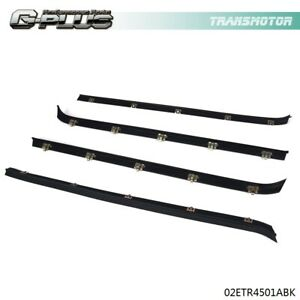 Window Sweeps Felts Seals Weatherstrip Kit Set Of 4 For 81 91 Chevy Gmc Van