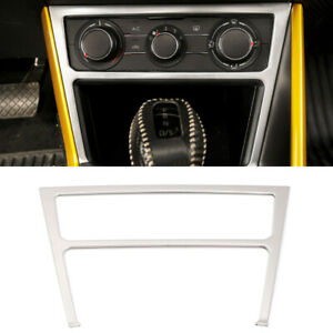 Silver Middle Control Air Condition Frame Cover For Volkswagen Polo Mk6 2018 20