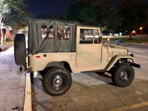 Fj40 Soft Top Black For Toyota Land Cruiser 100 Customizable