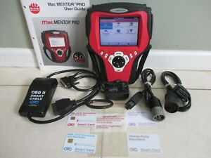 Mac Mentor Pro Diagnostic Scanner Dom Asian Euro Heavy Duty Trucks 80s 2014