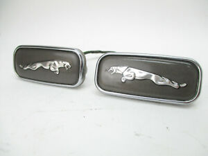 Jaguar Xj6 Xj8 Vanden Plas Leaping Cat L R Fender Side Badge Emblem Set 98 03