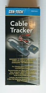 New Cen tech Cable Tracker Home Garage Auto Shop Power Tools Nib