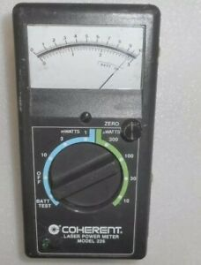 Coherent Laser Power energy Meter Model 235 Used Turns On